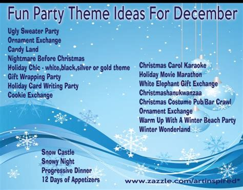 creative christmas party names 25 best ideas about themes on decorations