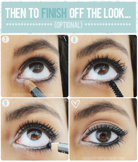 smudge eyeliner tutorial the beauty department your daily dose of pretty soften up