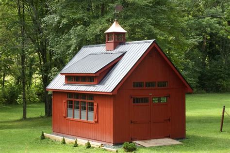 colonial barn duratemp siding metal roof
