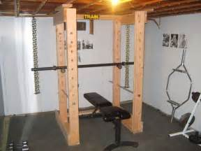 Diy Power Rack by Home Gyms Diy Search Basement Makeover
