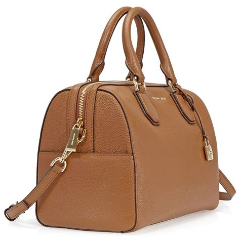 Michael Kors Leather Duffle Bag by Michael Kors Medium Leather Duffel Bag Luggage Michael