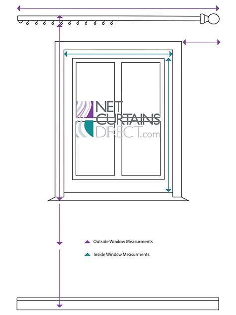 how to measure curtain panels how to measure for net curtains voiles sheers