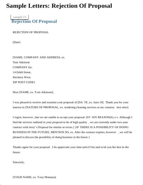Rejection Letter Rfp rejection letter for investment 28 images after llamas