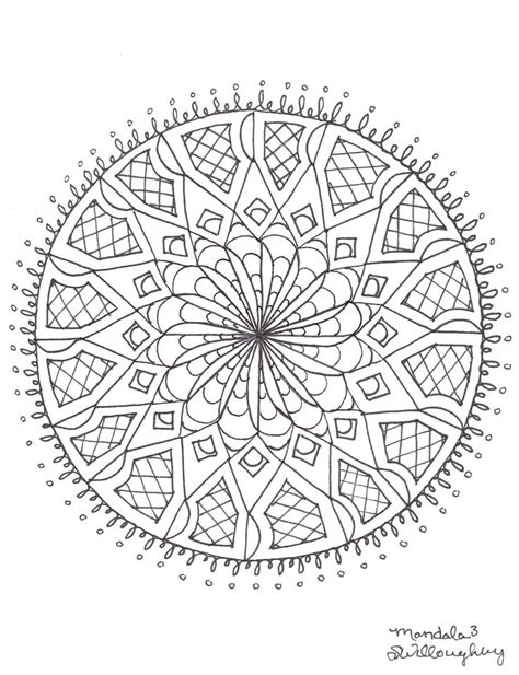 mandala coloring pages therapy mandala coloring page by sw coloring pages