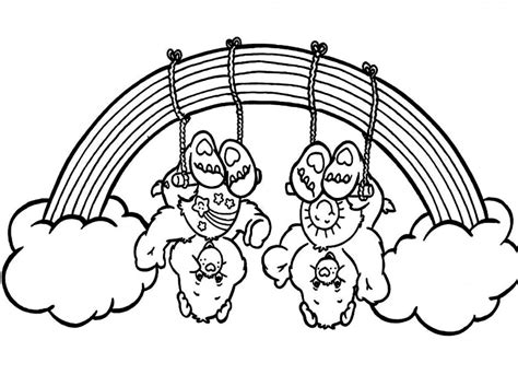 coloring pages noah s ark rainbow color the rainbow az coloring pages