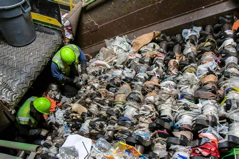 waste management recycling center options hours cut