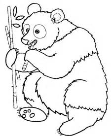panda coloring page panda coloring pages coloring home