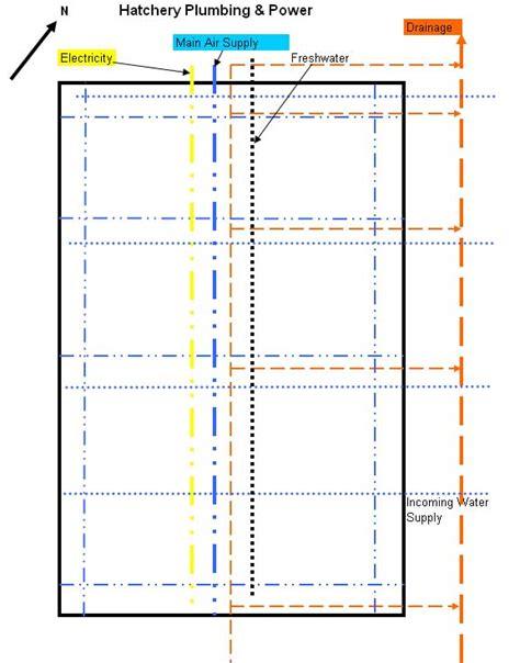 hatchery layout plan fish hatchery design exle