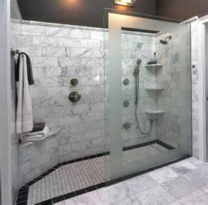 walk in shower ideas for bathrooms doorless showers designs for modern bathroom with frames