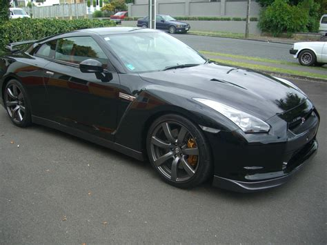 black nissan 2008 2008 nissan gtr black edition jdm gt r register official