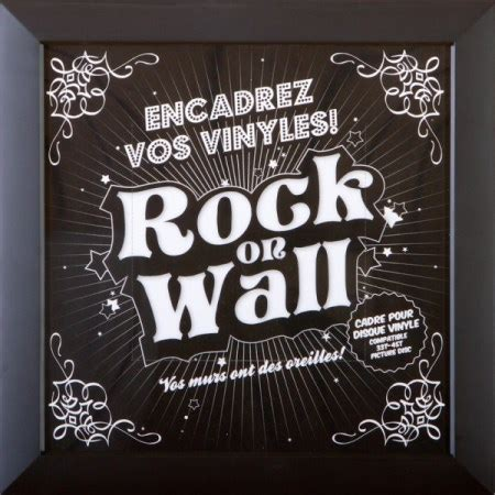 Synergistic Research 5 X 20mm Sr 20 Quantum 315a rock on wall vinyl record lp sleeve frame