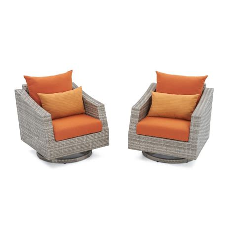 Rst Patio Furniture Rst Brands Cannes All Weather Wicker Motion Patio Lounge