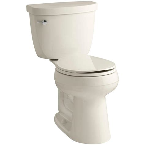 kohler comfort height toilet specs kohler cimarron comfort height 2 piece 1 6 gpf round