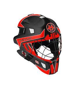 Helm Optima unihoc optima 66 black neon goalie helm efloorball de