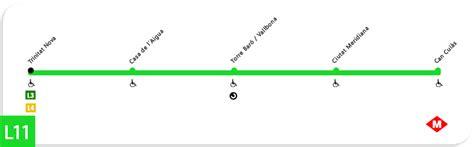 imagenes en linea html l 237 nea 11 verde claro del metro barcelona