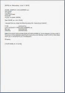 Closing Account Letter Format Every Bit Of Life Request Letter To Bank For Account