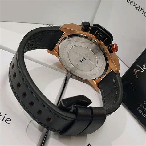 jual jam tangan pria alexandre christie original terbaru