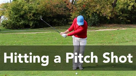 pitch swing how to hit a pitch shot from 20 yards golf instruction