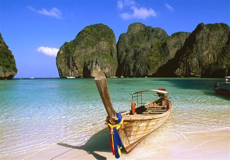 phi phi island koh phi phi island thailand wallpaper view