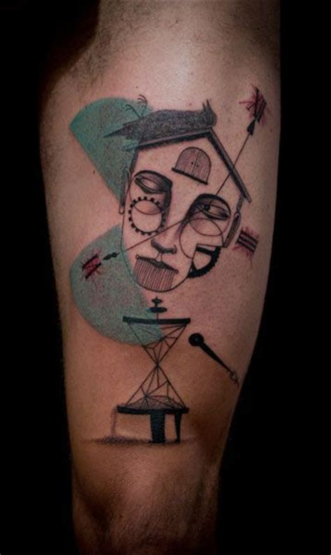 expanded eye tattoo 17 best images about cubism on your skin tattoos on
