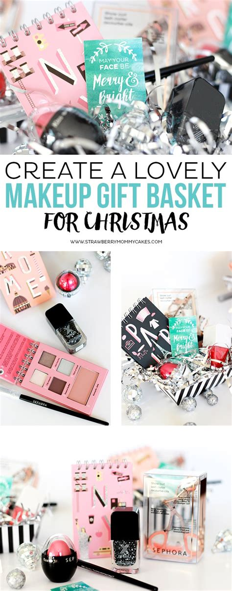 christmas present for your crush create a lovely makeup gift basket for 100 giveaway closed printable crush