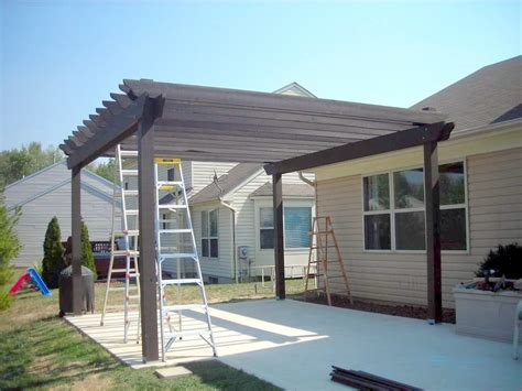 how to build a pergola over a patio for the yard