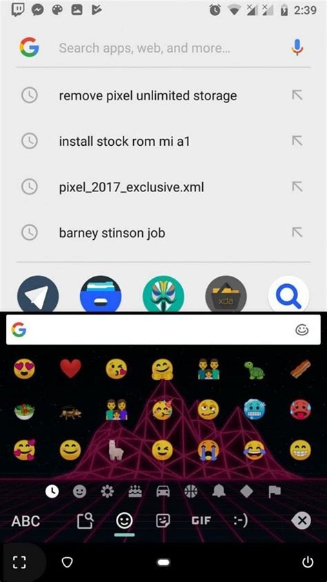 install android p emojis  fonts   android device