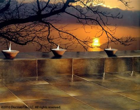 Sunset Patio by Sunset Patio Discovertile Tile
