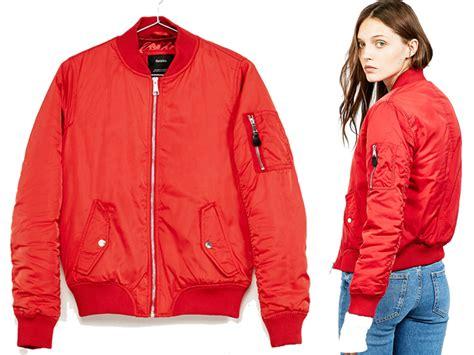 Jaket Parasut Olahraga Wanita jaket bomber wanita merah model terbaru taslan