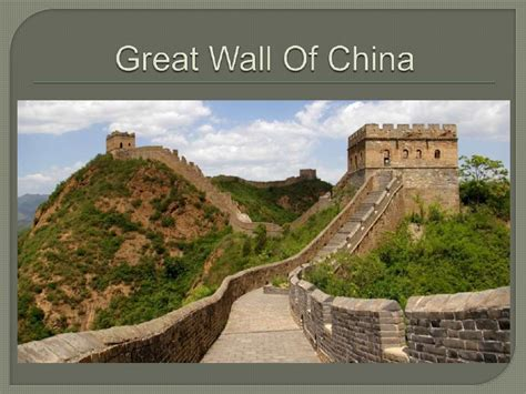 Buku Impor Great Wall China Against The World 1000 Bc Ad 2000 engineering structures power point