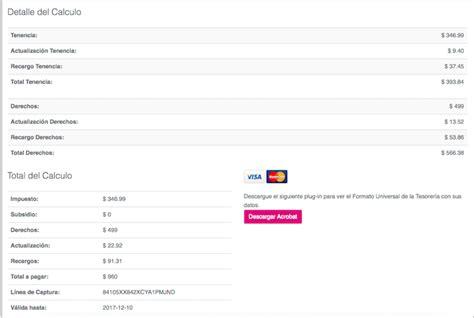formato pago tenencia df 2017 formato pago de refrendo df 2017 capital m 233 xico c 243 mo pagar