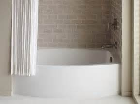 kohler expanse curved apron tub bathroom