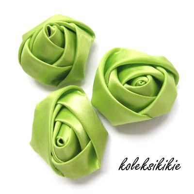 Sale Bros Kain Bros Mawar Made Hijau mawar kuncup kecil hijau muda koleksikikie
