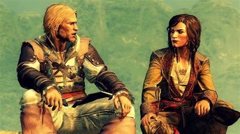 mary read and edward kenway ac4 black flag youtube