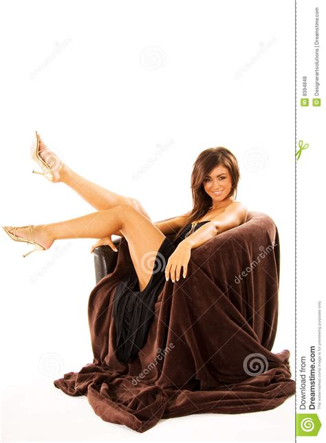 woman in an armchair woman in armchair royalty free stock photos image 8394848