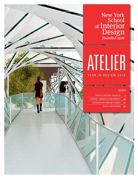 new york school of interior design reviews issuu atelier year in review 2013 by new york school of
