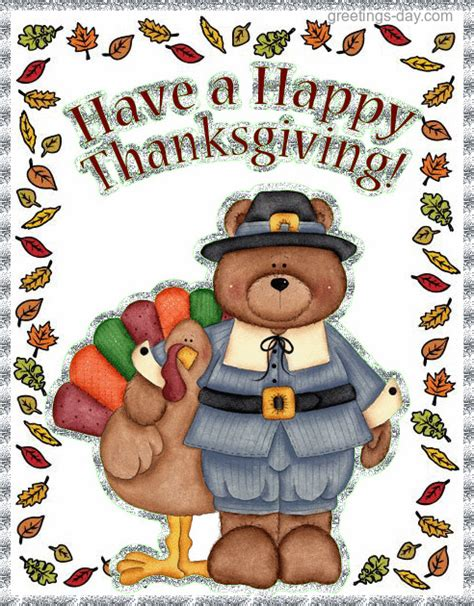 happy thanksgiving animated gif cards pictures holidays
