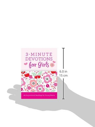 3 minute devotions for girls 1628366389 3 minute devotions for girls 180 inspirational readings for young hearts buy online in uae
