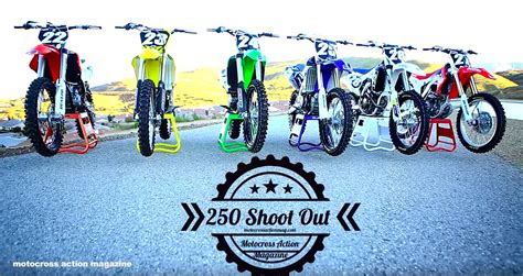 motocross action 250f shootout motocross action s 2016 250f shoot out derestricted