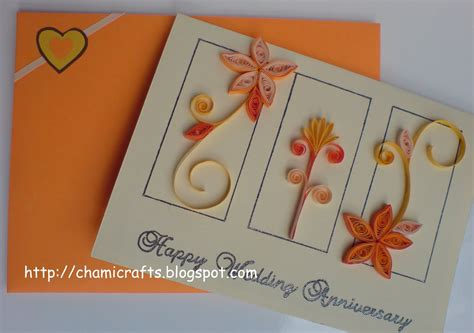 Handmade Greeting Card Designs For Anniversary - chami crafts handmade greeting cards wedding