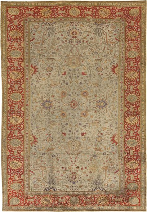 Antique Silk Hereke Turkish Rug 41567 For Sale Antiques Silk Rugs For Sale