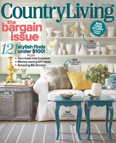 country home decor magazines home decorating