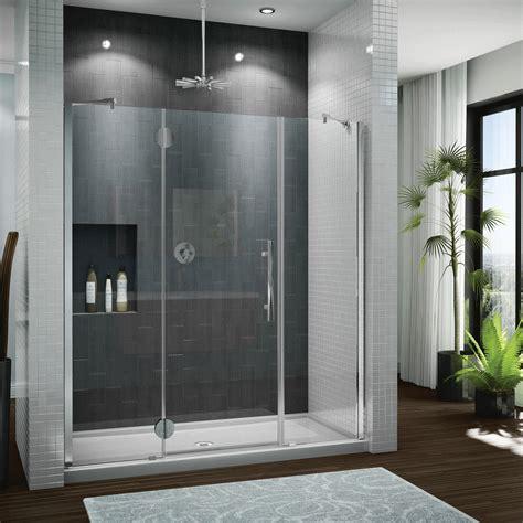 Hyline Shower Doors Fleurco Platinum Trio Door And Panel At Bath Emporium Toronto Ontario