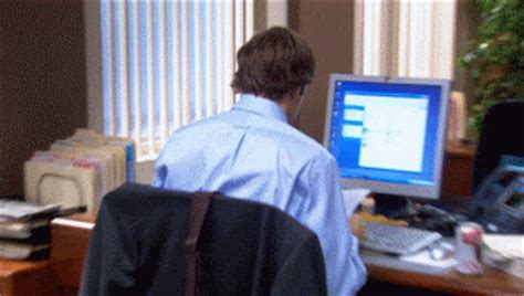 The Office Initiation by The Initiation Animated Gif The Office Fan