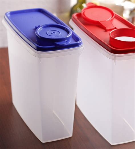 Tupperware Crispy Storer 1 buy tupperware cereal storer with pourer seal set of two airtight storage food