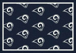 los angeles rams area rug nfl rams area rugs