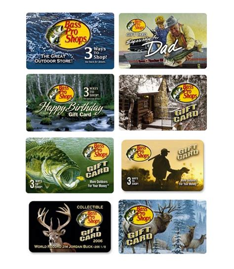Bass Pro Gift Card - last minute gifts for christmas designer mag