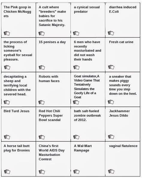 printable games like cards against humanity best 25 cards against humanity printable ideas on