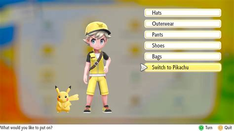 pokemon lets  trainer  pokemon outfits location guide