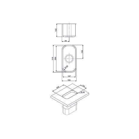 Evier Inox Encastrable Sous Plan by Smeg Um15 201 Vier Encastrable Sous Plan 1 Cuve Acier